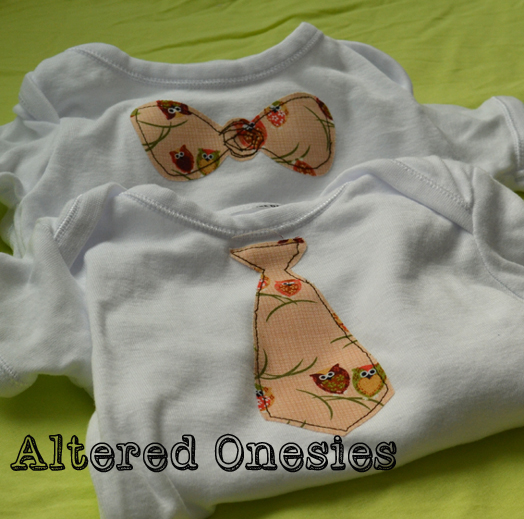 Altered Onesies by Deb Fearns