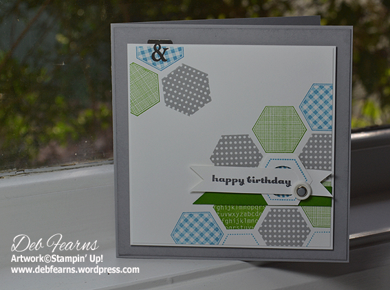 Six-Sided Sampler Card by Deb Fearns